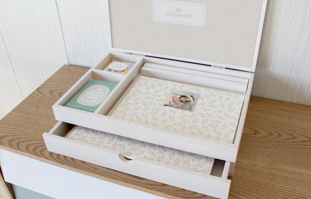 álbum + caja con cajón